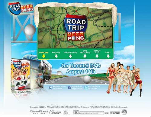 download movie road trip beer pong